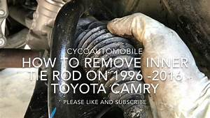 How To Remove The Inner Tie Rod On 1996
