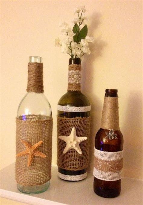 flaschen dekorieren geburtstag pin christa schacher auf dekorieren botellas