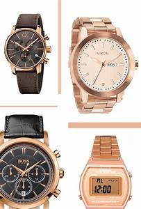 Montre A La Mode : montre en or rose masculine mode masculine ~ Melissatoandfro.com Idées de Décoration