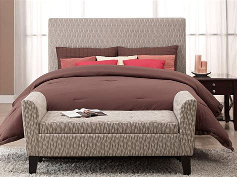 ottoman for foot of bed bed ottoman bench giving extra sophistication you cannot