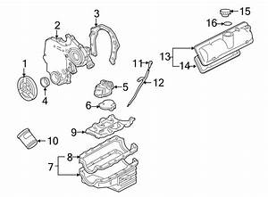 Chevrolet Malibu Engine Timing Cover Gasket  Front