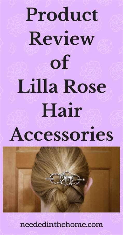 product review  lilla rose hair accessories