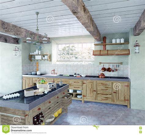 cuisine al ancienne cuisine à l 39 ancienne illustration stock image 46085295