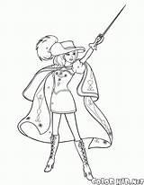 Musketeer Musketeers sketch template