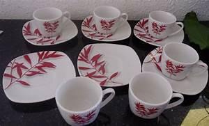 Service Tasse à Café : service caf tasses et sous tasses les ventes de la ~ Teatrodelosmanantiales.com Idées de Décoration