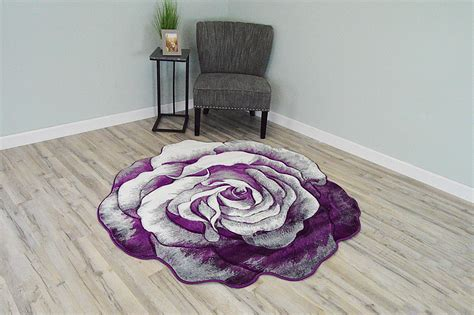 flowers  effect hand carved thick artistic floral flower