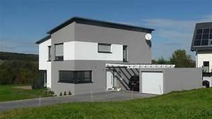 Einfamilienhaus Mit Garage : neubau einfamilienhaus mit garage und carport architekt ~ Lizthompson.info Haus und Dekorationen