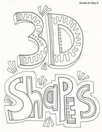 shapes classroom doodles