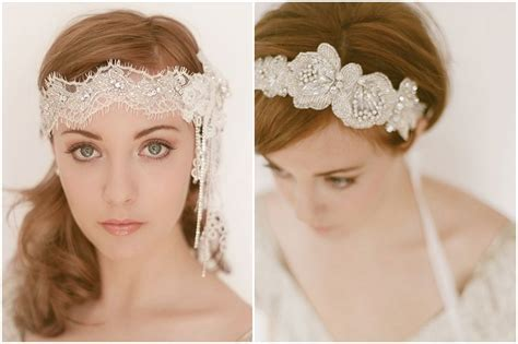Inspired by Bridal Headbands   Inspired By This