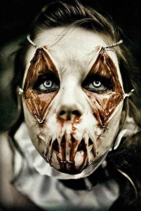 55 Scary Halloween Makeup Ideas That Look Too Real