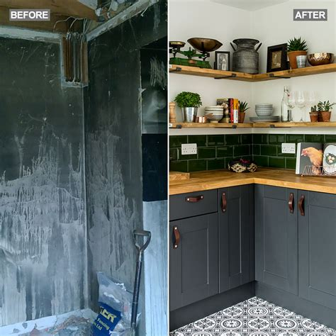 Kitchen Floor Units by 14 Kitchen Makeovers Real Ideas To Inspire Your