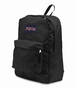 JanSport SuperBreak School Backpack - Black - Fantasyard ...