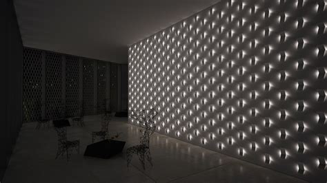 led wall light fold built in by vibia design arik levy