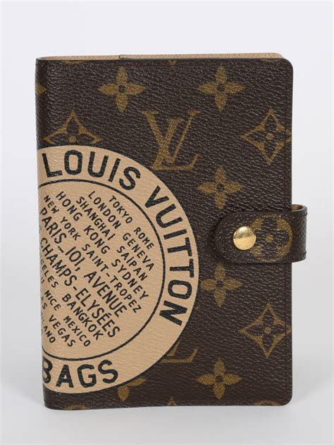 louis vuitton agenda pm trunks bags monogram canvas