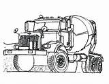 Coloring Pages Transporter Bulldozer Construction Truck Cement Drawing Vehicle Lego Site Simple Contruction Clipartmag Print Tocolor sketch template