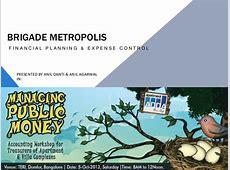 Brigade Metropolis Financial Planning & Expense Control