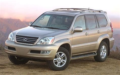 lexus suv 2003 2003 lexus gx 470 ground clearance specs view