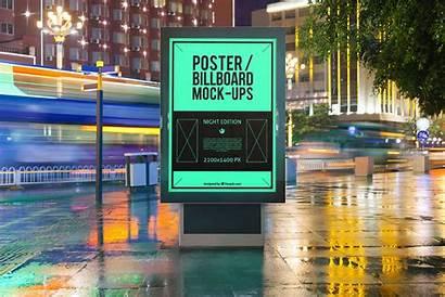 Advertising Outdoor Psd Mockup Poster Billboard Bus