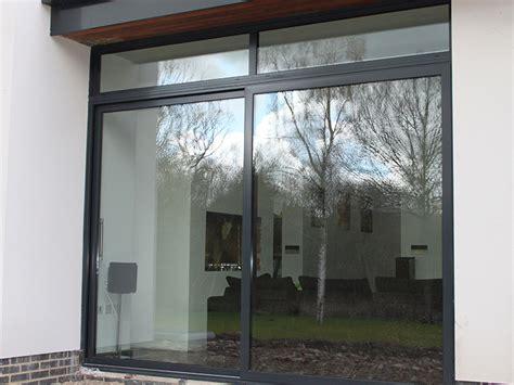 contemporary aluminium windows bifoldsin headley berkshire