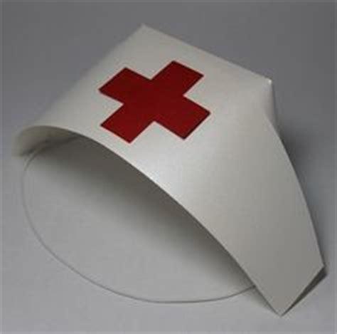 nurses cap costume   paper paper