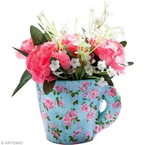 une tasse transform 233 e en pot de fleurs shabby chic avec artepatch id 233 es et conseils d 233 copatch