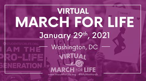 March For Life: Virtual – Fellowship Chapel