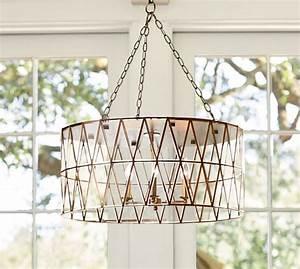 Grace chandelier pottery barn