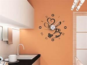 Designer Uhr Wand : k chen wanduhr dekoration wanduhren k che tipps und anregungen ~ Michelbontemps.com Haus und Dekorationen