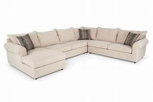Basement sofa 999 venus ii 4 piece right arm facing for 4 piece sectional sleeper sofa