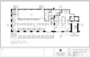 exles of floor plans restaurant floor plans