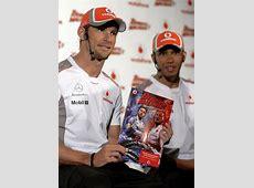 Lewis Hamilton e Jenson Button viram superheróis dos