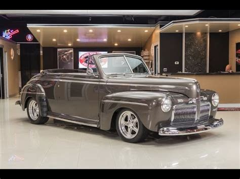 ford cabriolet  sale youtube