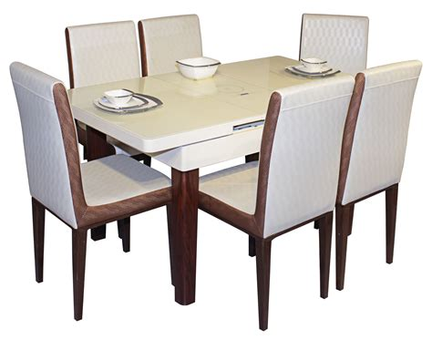 dining table set 6 seater galassia 6 seater dining table set