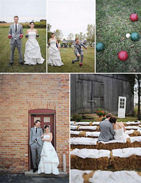 diy wedding ideas farm real wedding ashley devin s fun farm wedding
