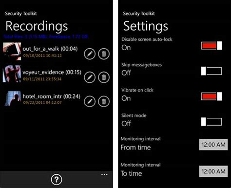 windows phone app review security toolkit windows central