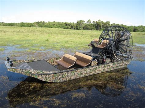 Big Boat With Fan by 20 X 8 Panther Airboat Panther Airboats