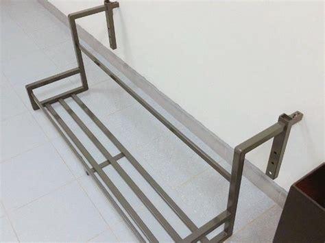 modern heavy duty plant rack flower display shelf  hdb corridor  sale  loyang walk east