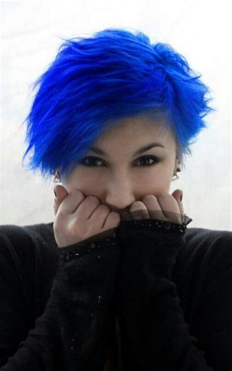 Best 25 Bright Blue Hair Ideas On Pinterest Electric