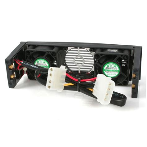 5 25 drive bay fan mount 5 25 front bay mount dual fan hdd cooler hard drive