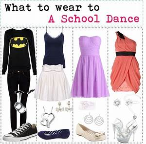 U0026quot;What to wear to a school dance.u0026quot; by allison-smoot liked on Polyvore   Outfits   Pinterest ...