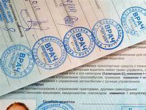 срок действия медицинской справки при замене водительского удостоверения в москве