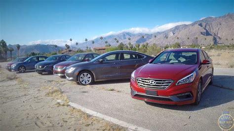 2015 Midsize Sedan Comparison  Kelley Blue Book Youtube