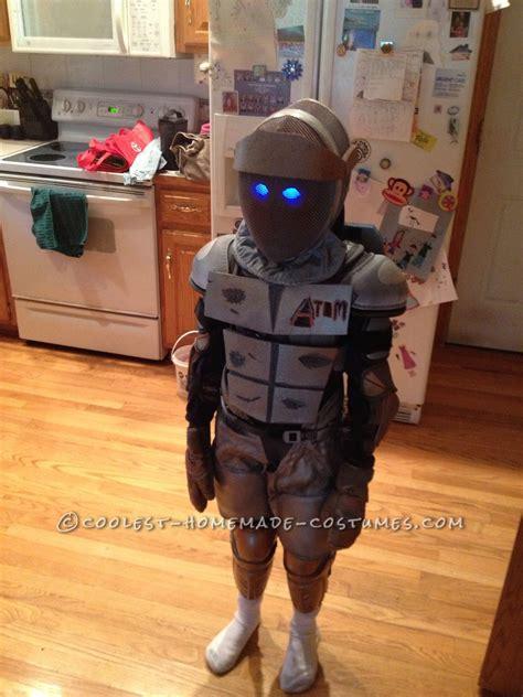 cool homemade boys costume atom  real steel