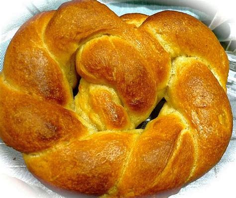 This is the polish version. Russian Christmas Bread (Krendel or Krendl) Recipe