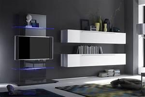 Meuble Tv Mural Pas Cher : armoire murale chambre meuble suspendre chambre armoire ~ Dailycaller-alerts.com Idées de Décoration