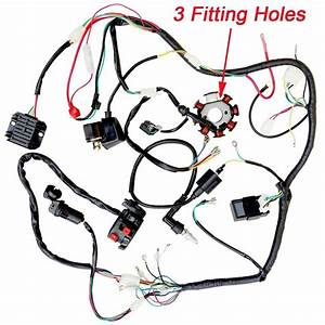 Complete Electric Wiring Harness Coils Switch Regulator