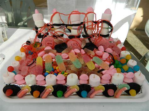 decoration avec des bonbons g 226 teaux d anniversaire le de chantal76