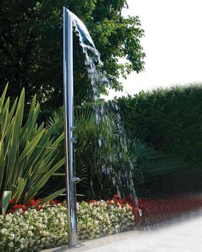 jaclo  aqua adagio multifunction outdoor shower column