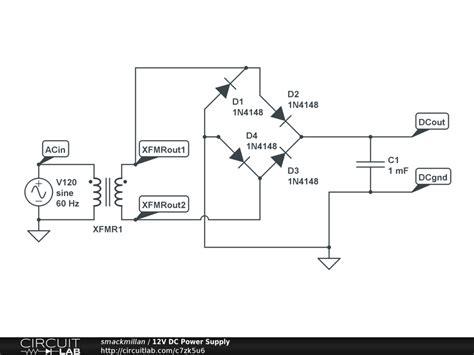 diagram ac dc converter circuit diagram