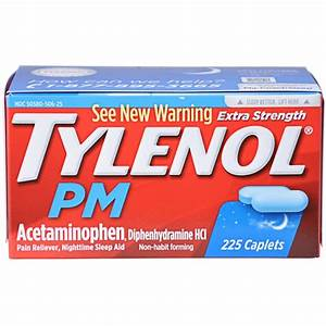 Tylenol U00ae Pm Extra Strength Caplets Pain Reliever  Nighttime Sleep Aid From Costco In Houston  Tx